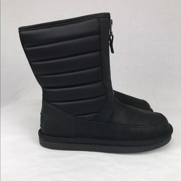 UGG Shoes - UGG ZAIRE WATER-RESISTANT LEATHER SHEEPSKIN BOOTS 5fd83d02f